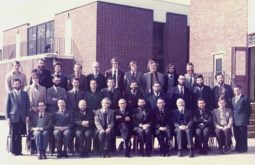 Hasmonean teaching staff, circa 1979