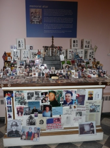 Pictorial memorial to 9/11 victims