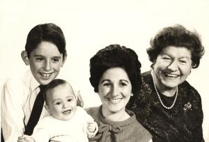 Jonny, Me, Mum & Grandma (circa 1968)