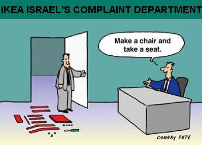 IKEA Israel Complaints
