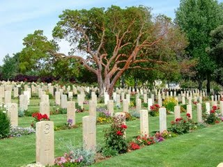 WWI British Cemetery, Mount Scopus, Jerusalem