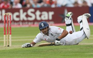 Ravi Bopara: couldn't play with himself