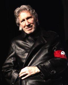 Roger Waters in uniform